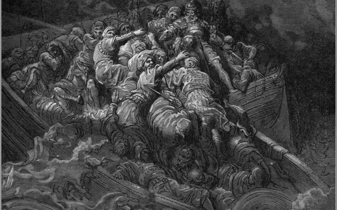From Orlando Furioso by Gustave Dore